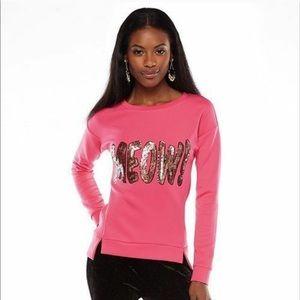 Juicy Couture Meow Sweatshirt Women's Large